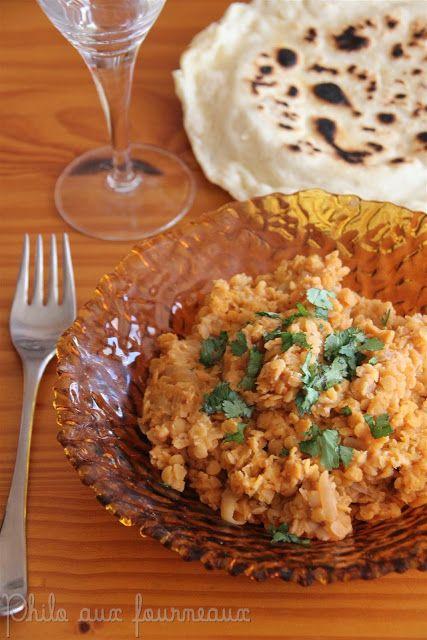 Curry de lentilles indiennes végétarien (Dhal curry)