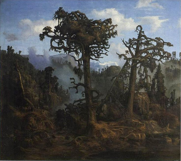 Hertervig Gamle furutrær - Lars Hertervig – Wikipedia