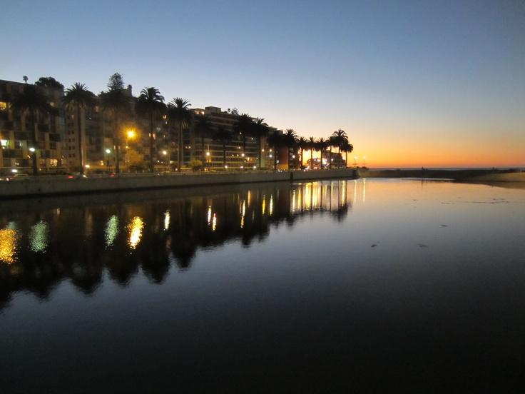 The bay of Vina del Mar