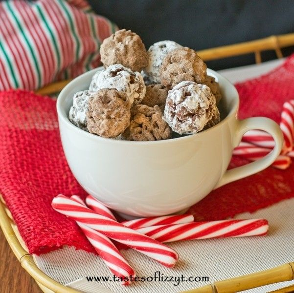 Hot Cocoa Krispies Bites