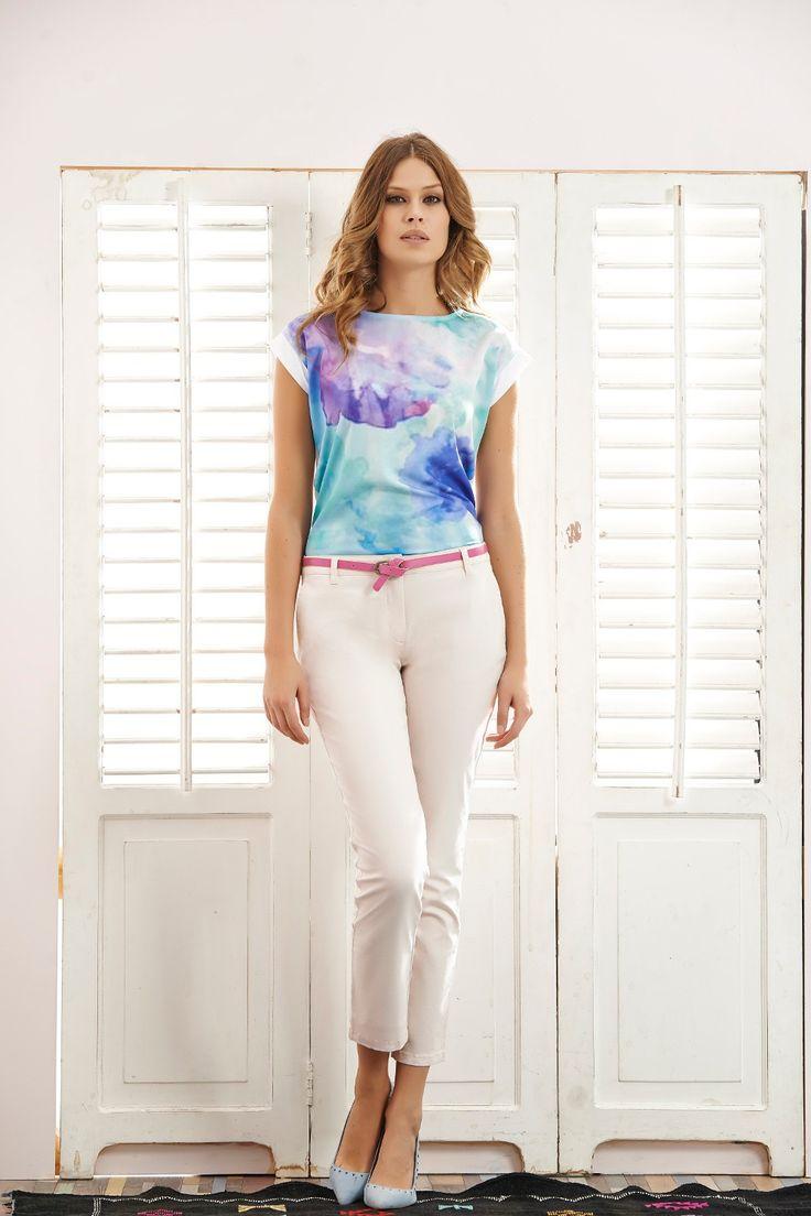 #quiosque #quiosquepl #lato #spodnie #bluzka #kobieco #kobieta #sylwetka #lookbook #friday #lookoftheday #lady #girl #polishgirl #ladystyle #ss15 #summer #hot #look #mood #inspiration