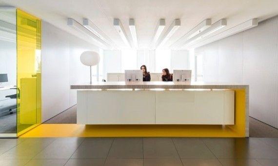 Reception arredamento accoglienza design reception www for Bbdo office design 9