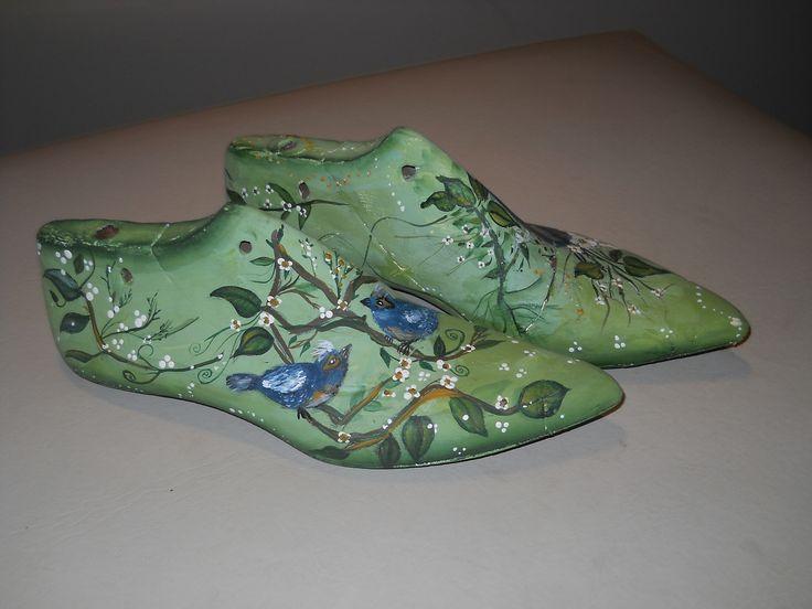 ormas de zapatos pintadas