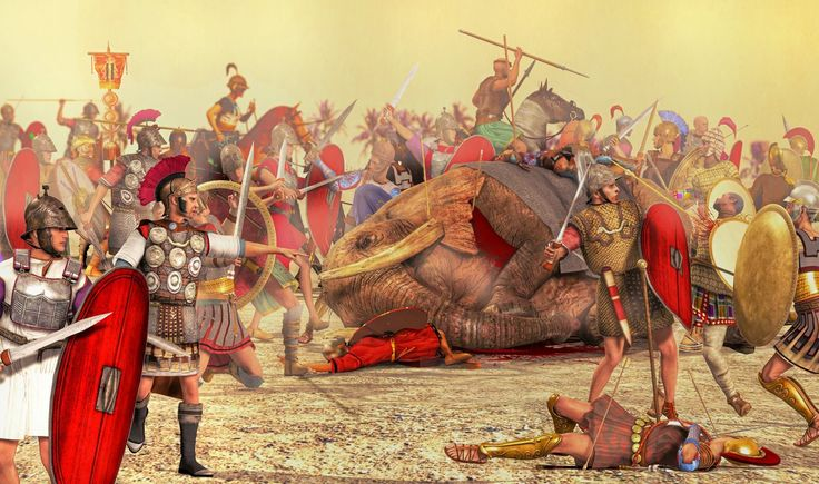 Battle of Zama by caastel