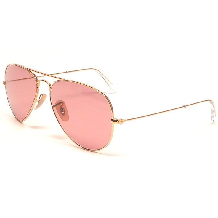 Occhiale da sole Ray Ban Aviator RB3025 019-Z2 a goccia con Montatura di colore Argento (Silver) e lenti di colore Rosa sfumate (brown mirror pink)   http://www.cheocchiali.com/prodotti/occhiale-da-sole-sunglasses-ray-ban-aviator-rb3025-019-z2-argento-silver