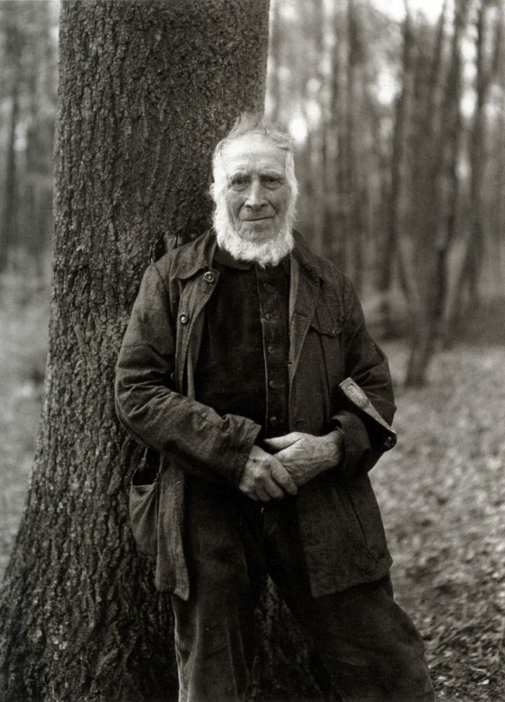 """The Woodcutter,1931, by August Sander  August Sander (1876 –1964) was a German portrait and documentary photographer. He has been described as """"the most important German portrait photographer of the early twentieth century."""""""