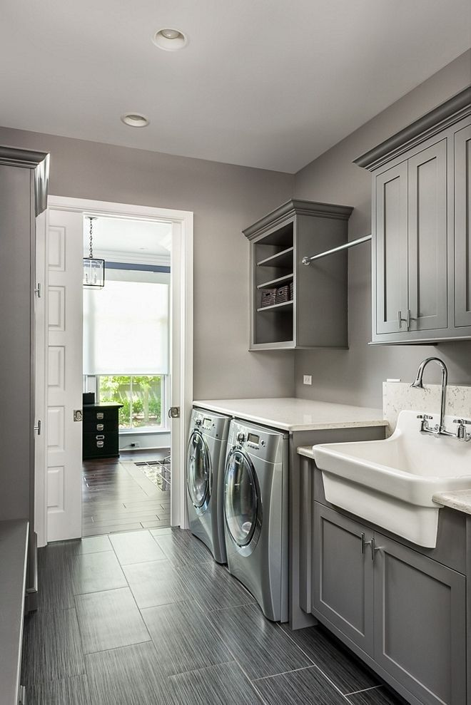 Image result for grey brown wood floors | Laundry room ...