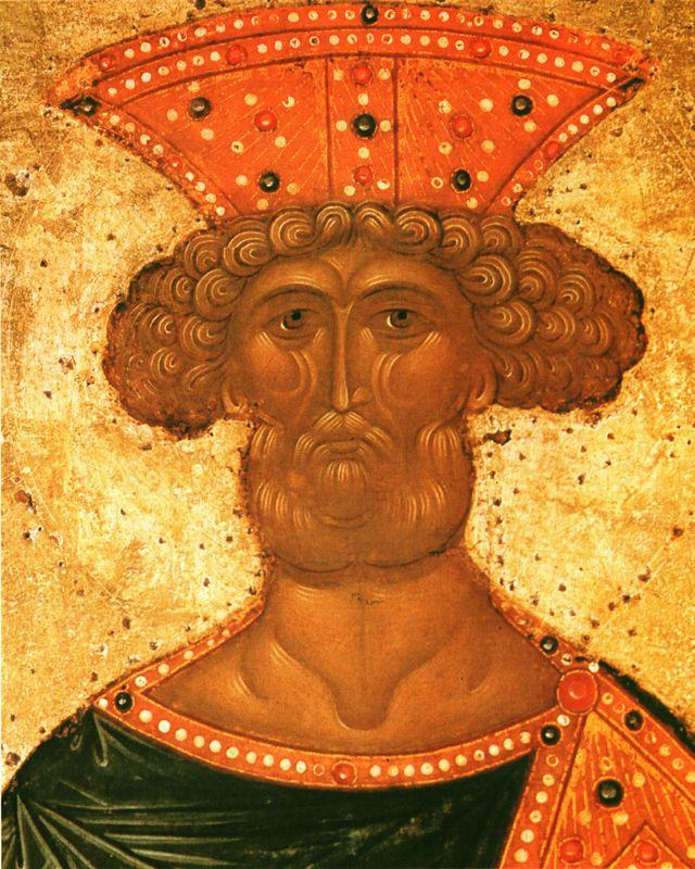 Фрагмент XV в.   Пророки  Даниил, Давид и Соломон