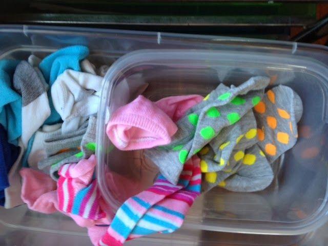 Matching Socks work task