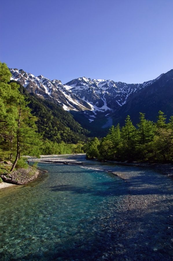 Kamikochi, Japan Alps national park. One of the most beautiful places I've visited. My favorite, Highly recommended!