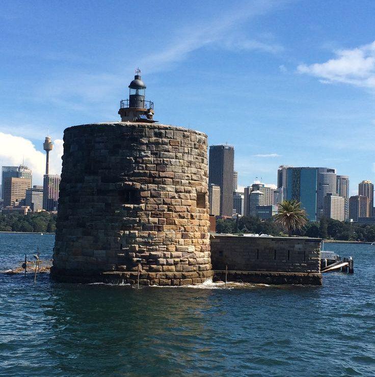 Fort Denison, Sydney Harbour  #sydneyharbour