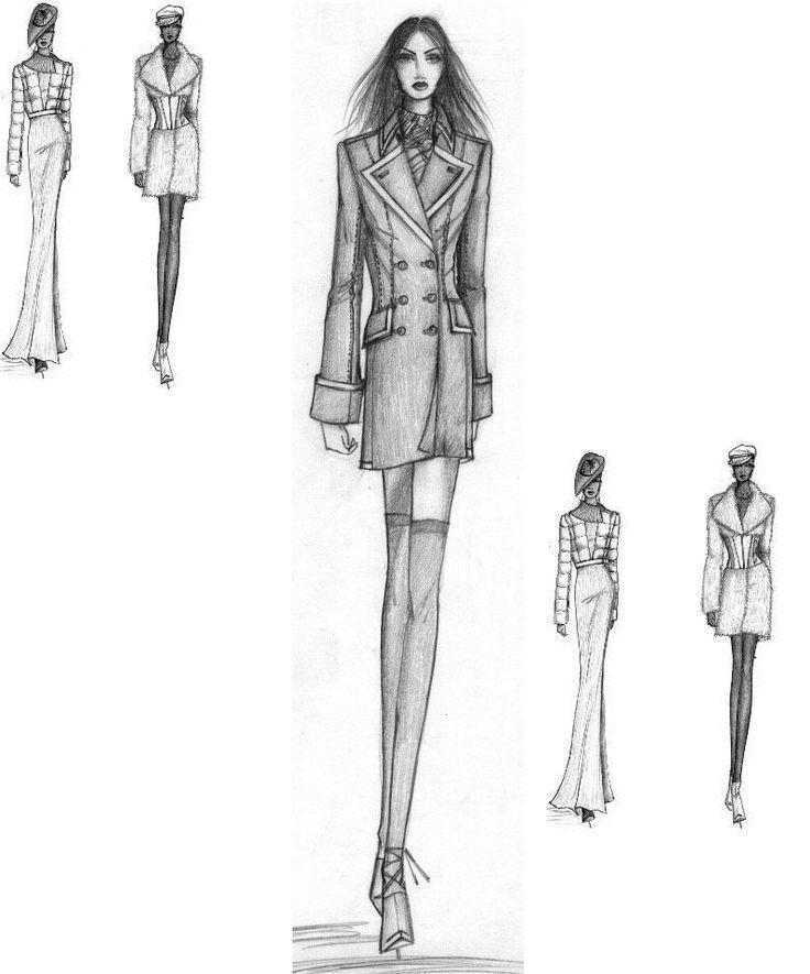 Diseños- Design- Fashion-Skizze-Kollektion-Kolumbien