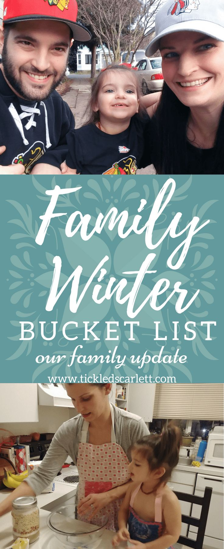 Our Family Winter Bucket List Update-Tickled Scarlett Blog