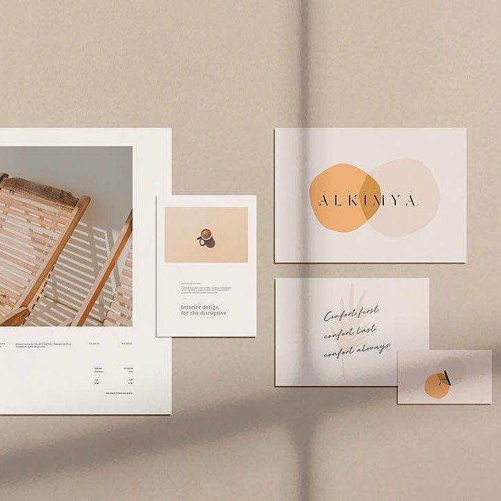 Love This Modern And Minimalist Brand That Is So Stylish Elegant And Creative Well Designed With Branding Design Inspiration Branding Design Postcard Design