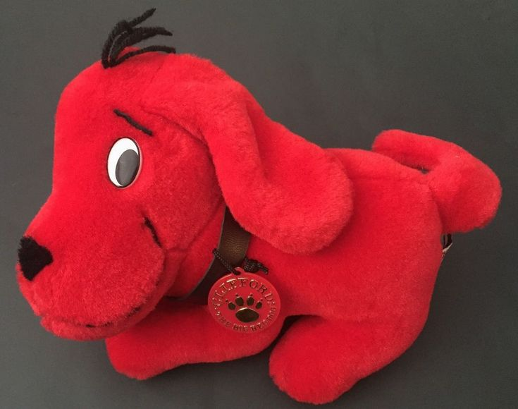 Side Kicks Clifford The Big Red Dog Plush Stuffed Animal Scholastic Character  | eBay