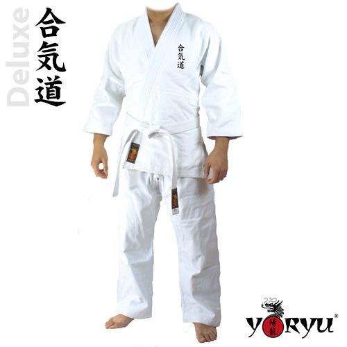 Keikogi YORYU De Luxe Aikido Kanji