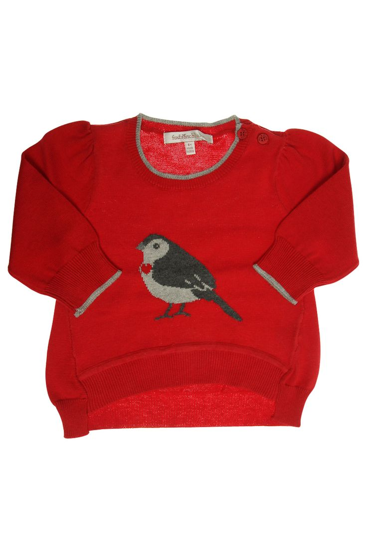 Fox and finch curved jumper