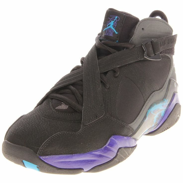 Nike Men's Air Jordan 8.0 Basketball Shoes  $112.99 This Nike Air Jordan 8.0 re-imagined version of the 1993 classic Nike Jordan VIII men's basketball shoe delivers premium performance on the court. These basketball shoes for men are built with a premium and patent leather upper for durability. Flywire threads add dynamic support;
