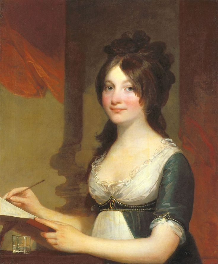 Portrait of a Young Woman Gilbert Stuart circa 1803  Indianapolis Museum of Art