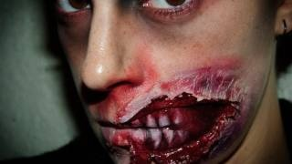 Halloween Make up 5: Zombie FX (special effects), via YouTube.