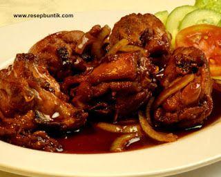 Resep Masak Ayam Bumbu Kecap Super Cepat