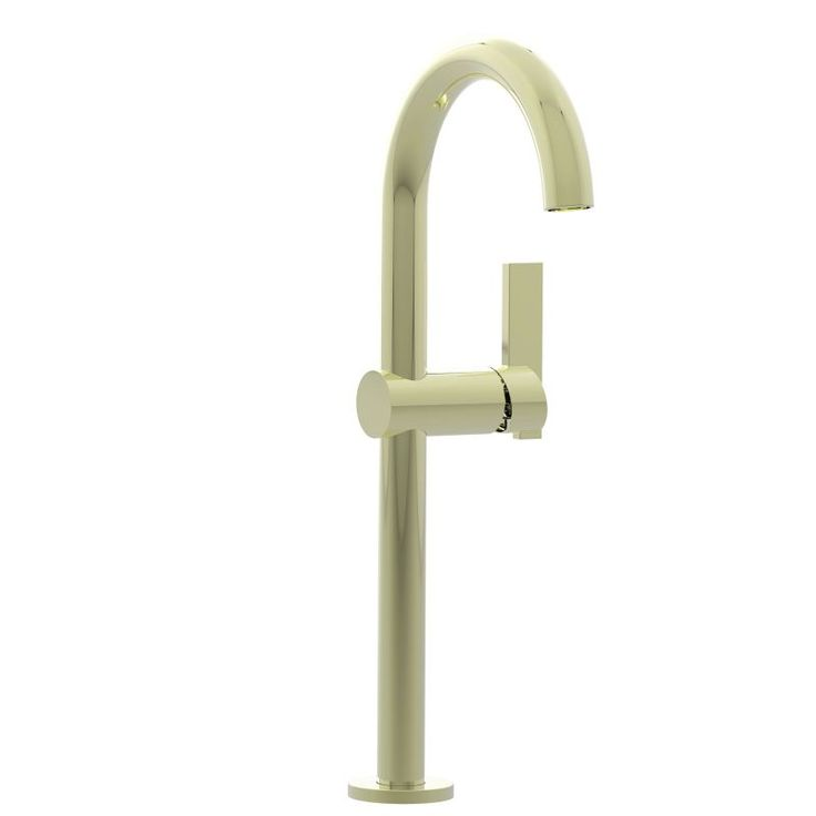Newport Brass 2413 Bathroom Vessel Faucet from the Priya Collection French Gold (PVD) Faucet Lavatory Single Handle