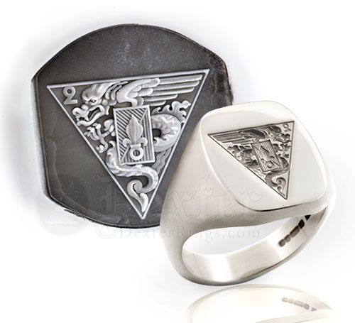 French Foreign Legion Signet Ring