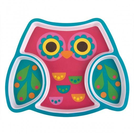 Owl Melamine Tray Possum Pie Stephen Joseph Arts and Crafts, Gifts and Toys, Bags and Backpacks