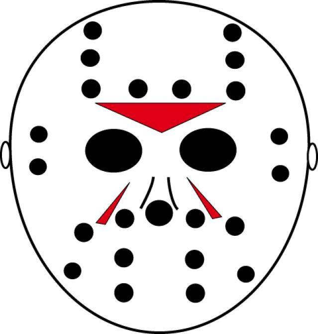 Scary Pumpkin Stencils Jason Mask