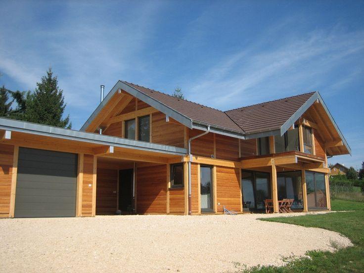 maison bois BBC poteau poutre savoie isére (15)_20120402120251.JPG (1037×778)