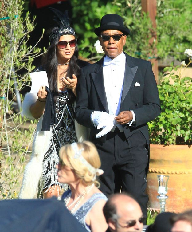 Giancarlo Esposito looking dapper as hell at Aaron Paul's wedding