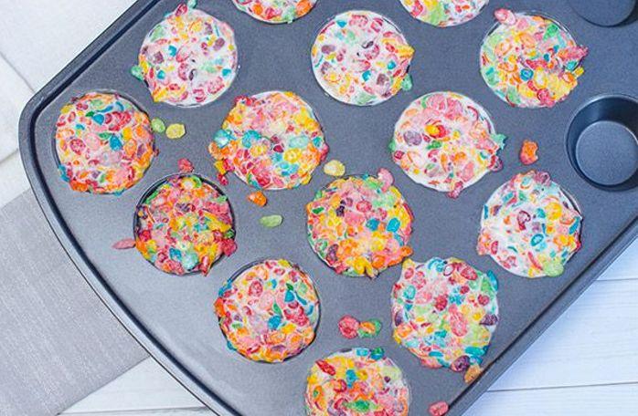DIY: Make Delicious Fruity Pebbles Ice Cream Cups!