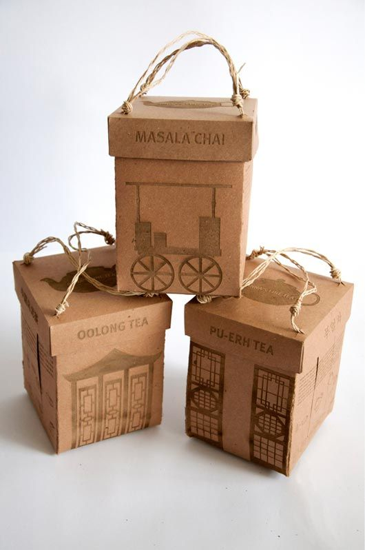 50 Amazing Examples of Cardboard Boxes   Packaging Design - 11