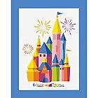 Disney Parks Castle Deluxe Print - 2014 - Limited Time Magic   Posters & Prints   Disney Store, $39