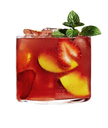 Strawberry-Rhubarb Sangría | RealSimple.com