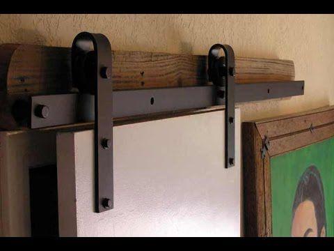 Barn Door Hardware Measuring and Installing Instructional Video YouTube   1000 ideas about Barn Doors Lowes. Morriston Barn Door Vanity