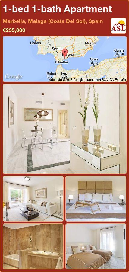 1-bed 1-bath Apartment in Marbella, Malaga (Costa Del Sol), Spain ►€235,000 #PropertyForSaleInSpain