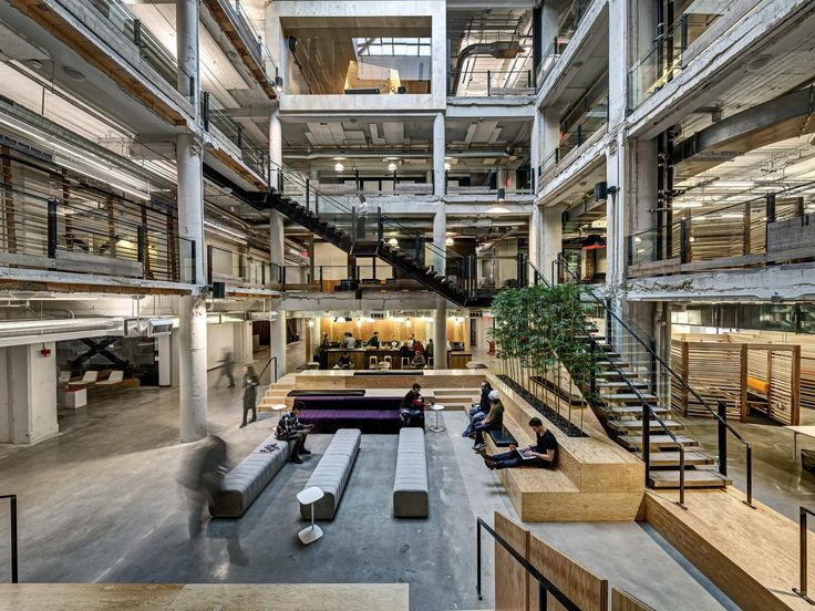 Neumann/Smith Architecture // Lowe Campbell Ewalds Detroit Offices