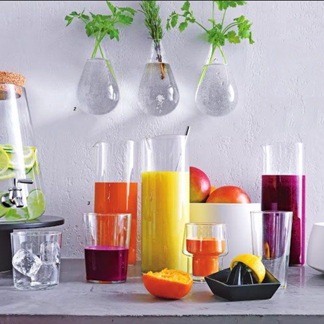 Красивые настенные вазы из прозрачного стекла #ВАЗА #КАШПО #СТЕКЛО