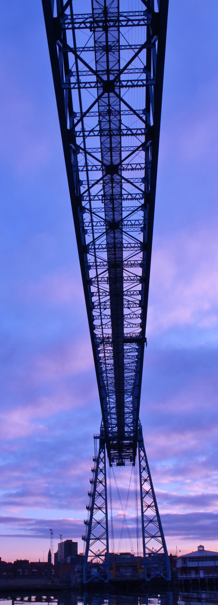The Transporter Bridge Middlesbrough by Dawn Ryder