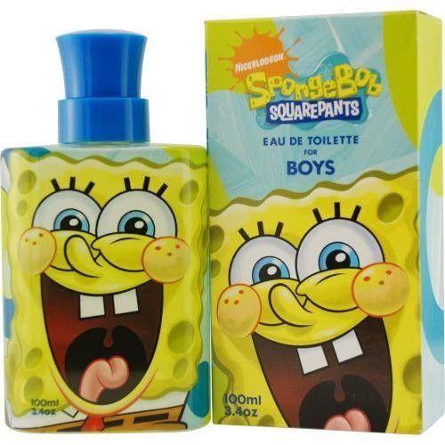 Spongbob Squarepants Eau De Toilette Spray for Kids, 3.4 Ounce