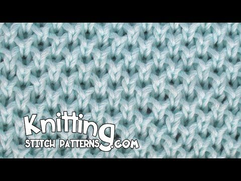 Watch video to learn how to knit the Pearl Brioche stitch. ++ Detailed written instructions: http://www.knittingstitchpatterns.com/2014/11/pearl-brioche.html...
