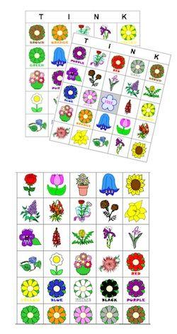 bingo cards tink