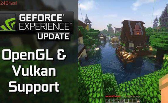 Nvidia lança GeForce Experience 3.6, com suporte para Vulkan e OpenGL
