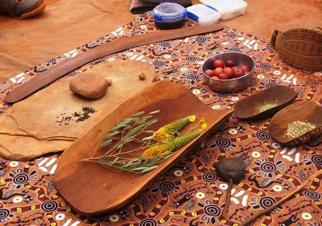 Bush Foods including grevillea, quondong, bush tomatoes & wattle seed