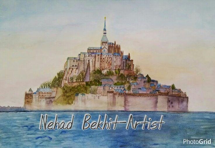 Mont St.Michel - France  Nehad Bekhit-Artist