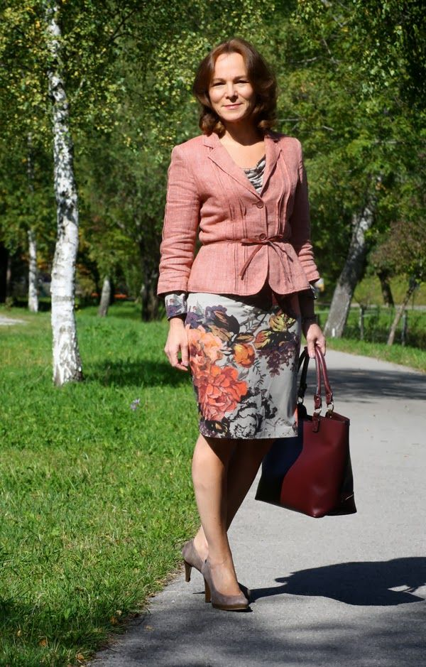 Autumn Leaves Lady Of Style My Personal Outfits Pinterest Fashion Lady And Blog