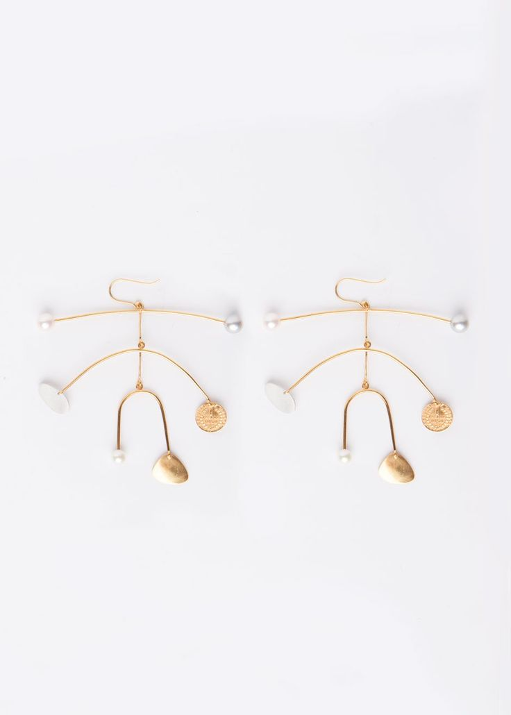 Becca x Peter Jensen Peggy 9 Mobile Earrings – The Frankie Shop