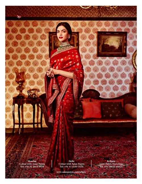 aashiqaanah: Deepika Padukone for Sabyasachi 2015