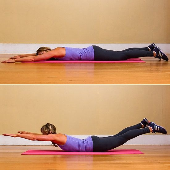 Ejercicios para perder grasa de la espalda